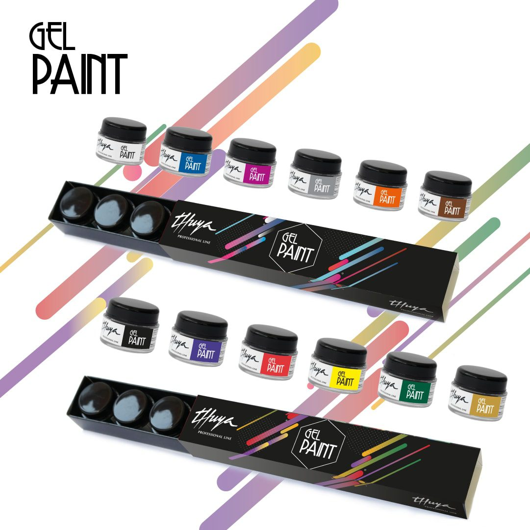 gel paint, decoracion de uñas