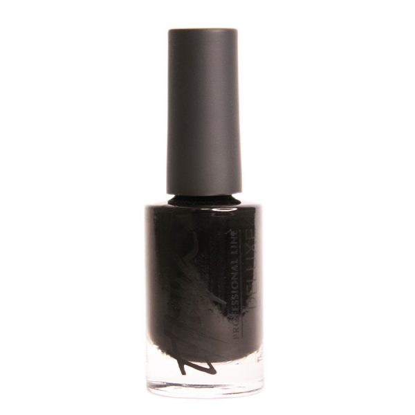 esmalte de uñas deluxe negro