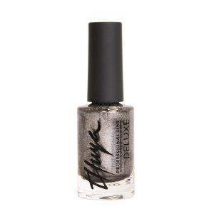 esmalte de uñas deluxe metallic grey