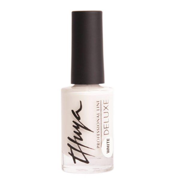 esmalte de uñas blanco deluxe
