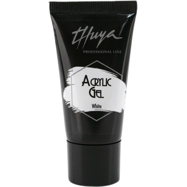 acrylic gel white