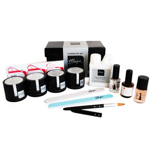 kit acrylic premium uñas artificiales