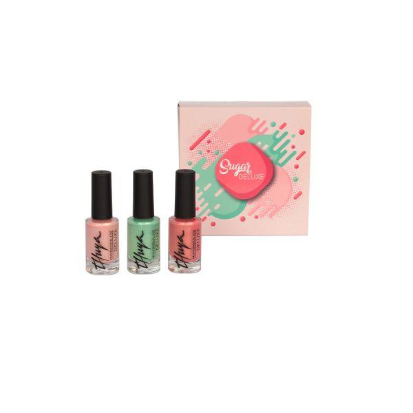 kit sugar esmalte de uñas deluxe