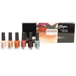 kit sahara deluxe esmalte de uñas