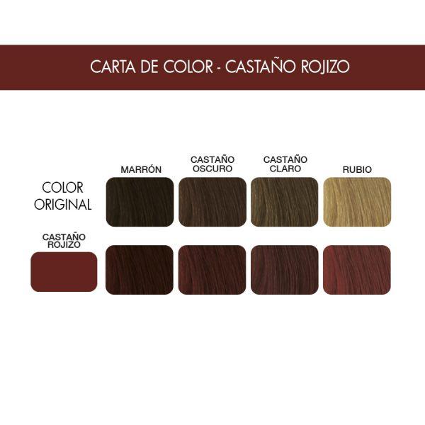 Carta color Castaño rojizo