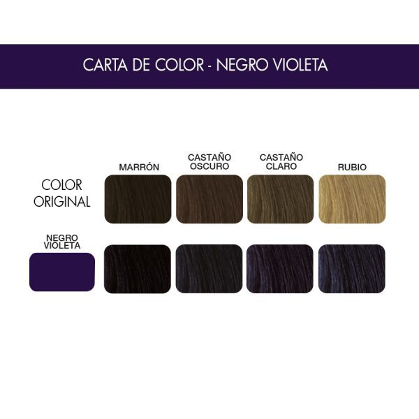 carta color negro violeta
