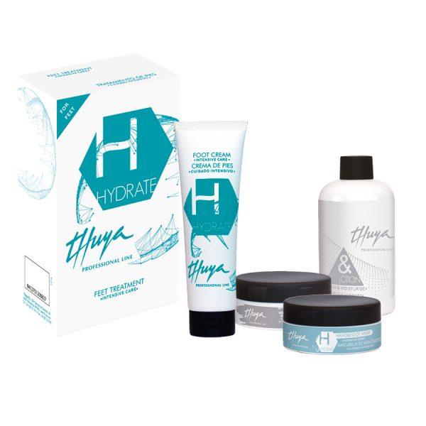 essential kit hydrate cuidado de pies