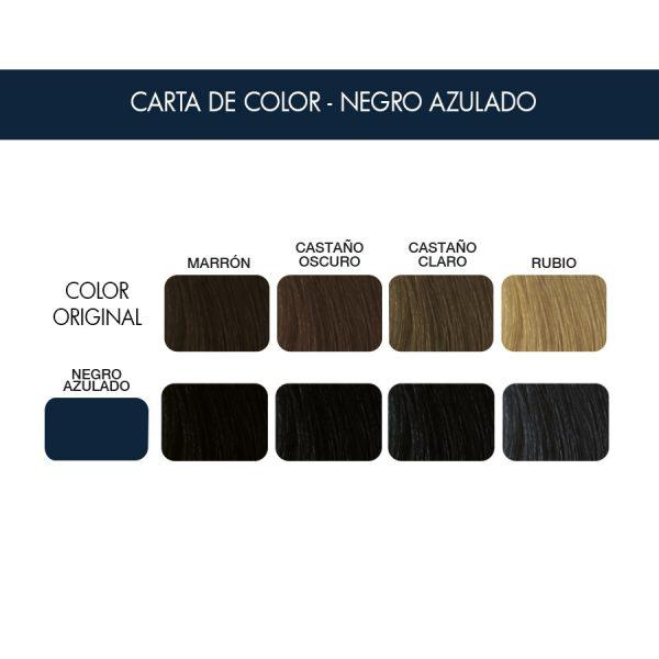 carta color negro Azulado