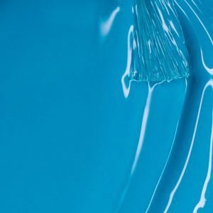 turquoise semi-permanent enamel