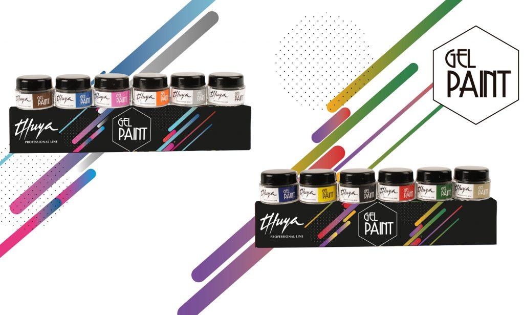 gel paint para decoraciones de uñas
