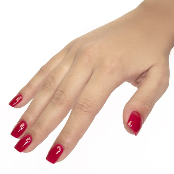 manicura esmalte de uñas deluxe glamour