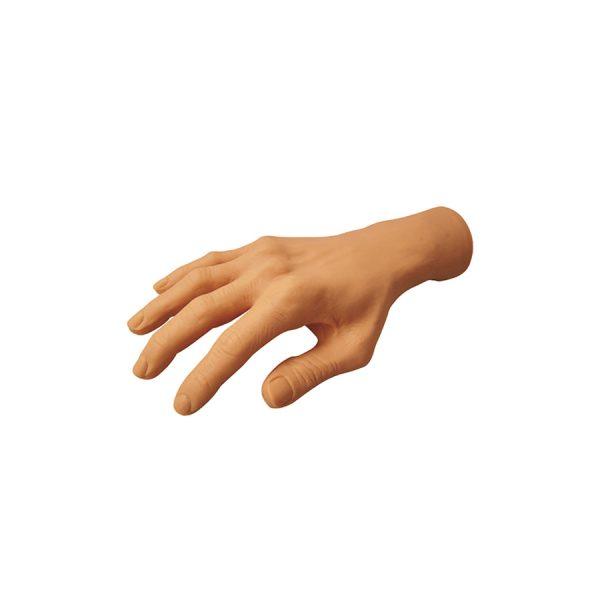 mano de prácticas construcción de uñas