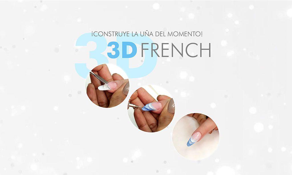 3d french paso a paso
