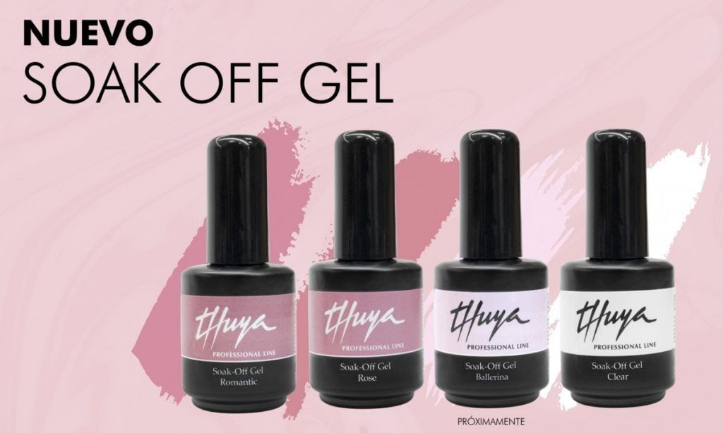 gel soak off thuya professional line