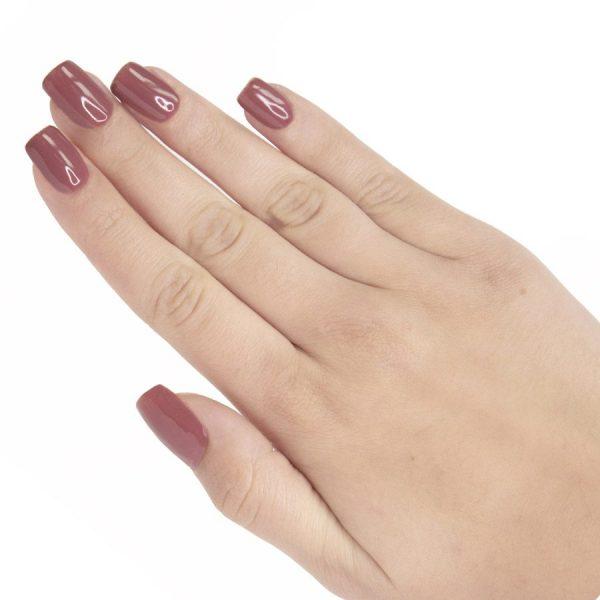 Esmalte permanente on off rosa-oscuro