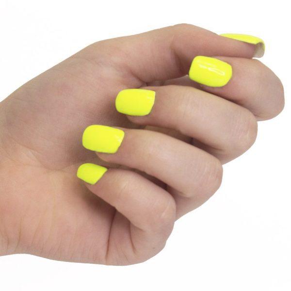 Esmalte permanente neon yellow