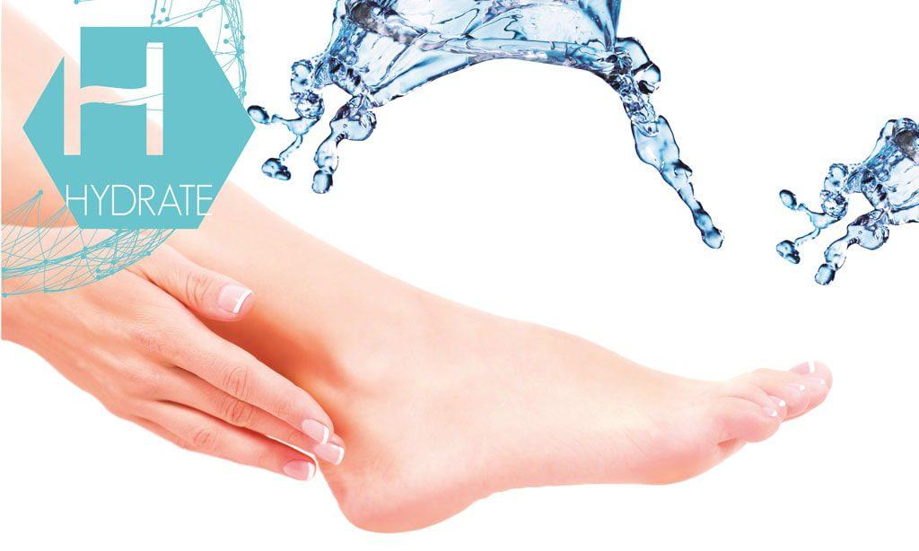 trattamento idratare mani e piedi