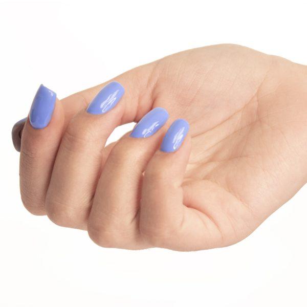 Esmaltes de uñas semipermanente on off blue dreams