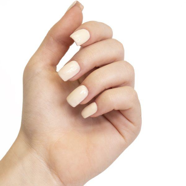 Esmaltes de uñas semipermanente on off coconut