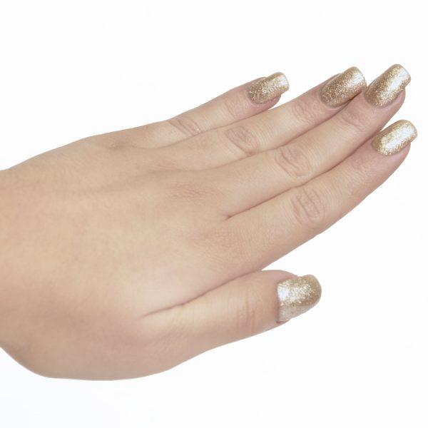 Esmaltes de uñas semipermanente on off star glitter