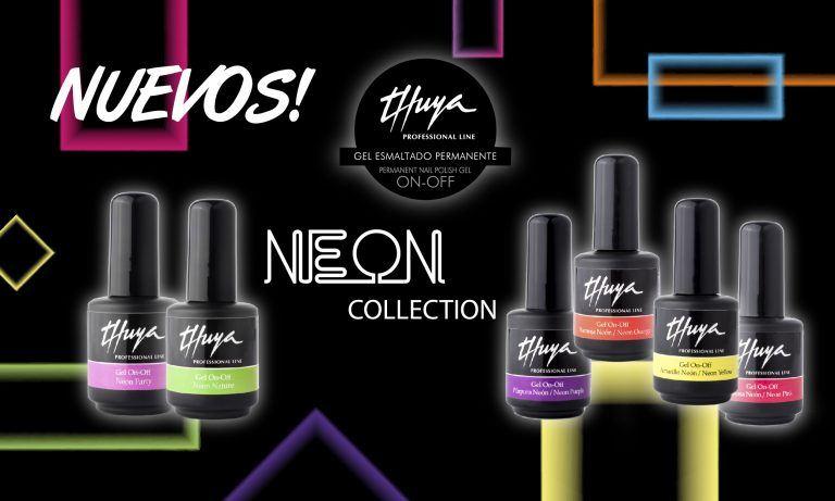 colección thuya neon esmalte semipermanente