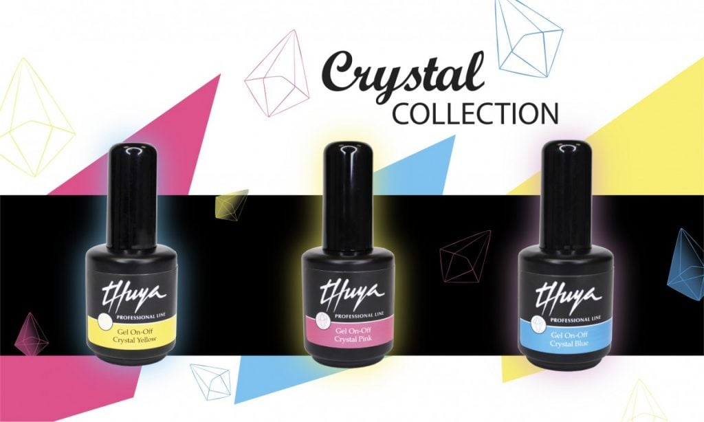 jelly nails esmalte permanente on off thuya