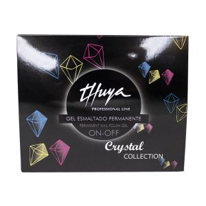 kit trio crystal collection thuya gel on off