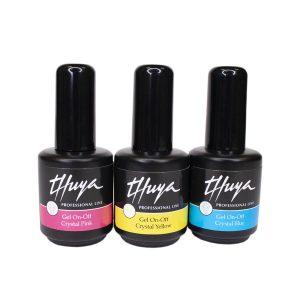 trio crystal collection gel on off thuya
